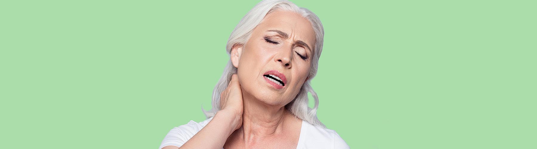 Raideur douleur colonne cervicale